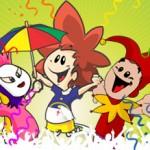 Alegria do carnaval pelo mundo