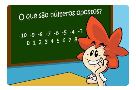 Você sabe o que é número oposto?