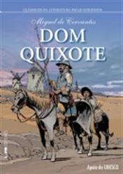 Capa do livro Dom Quixote HQ