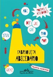 """capa do livro """"Fabriqueta Abecedário"""""""
