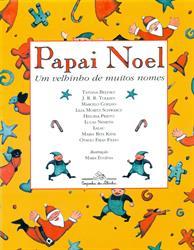 """capa do livro """"Papai Noel um velhinho de muitos nomes"""""""