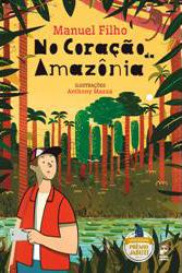 """capa do livro """"No Coração da Amazônia"""""""