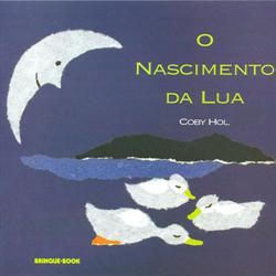 """capa do livro """"O nascimento da lua"""""""