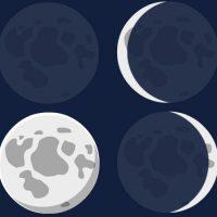 Por qual motivo a Lua muda de aspecto?
