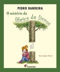 """Capa do livro """"O Mistério da Fábrica de Livros"""""""