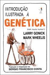 """Capa do livro """"Introdução ilustrada à genética"""""""