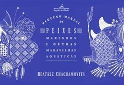 """capa do livro """"Pequeno Manual de Peixes Marinhos"""""""